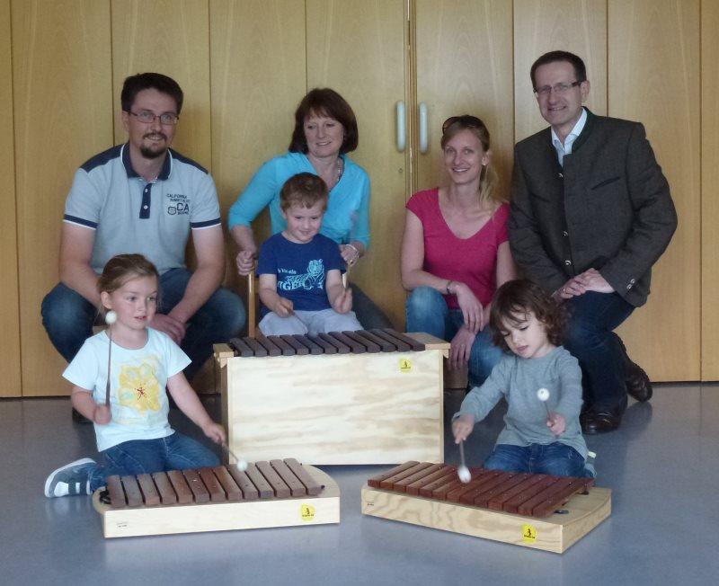 ÖVP spendet an Musikinitiative Krenglbach