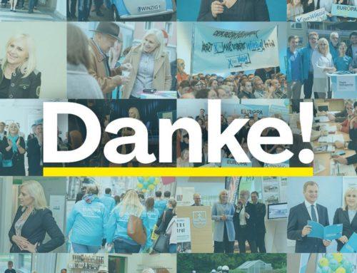 """EU Wahl 2019 – wir sagen: """"Danke Krenglbach!"""""""