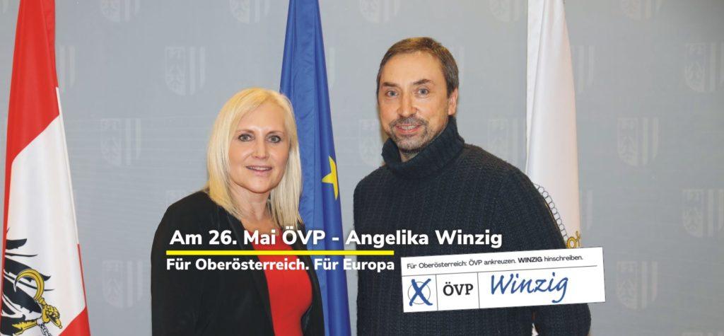 Angelika Winzig für OÖ in Brüssel