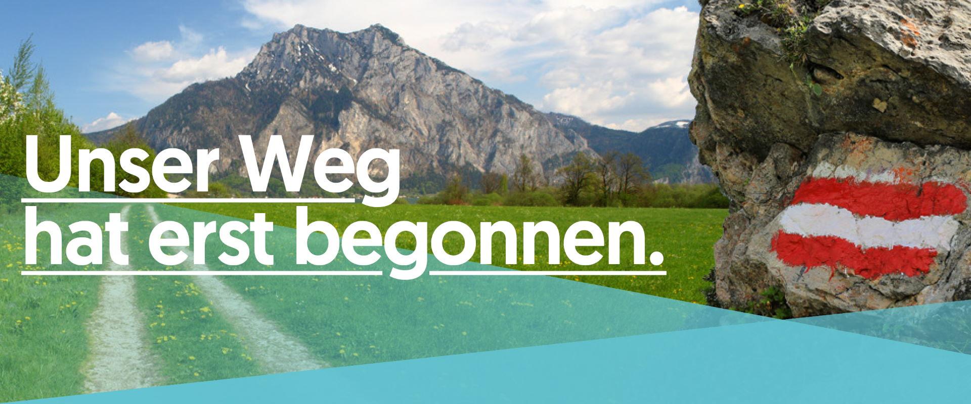 Unser Weg hat erst begonnen - für Sebastian Kurz, für Österreich