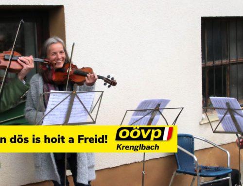 Landlerisch tanzen dös is hoit a Freid!