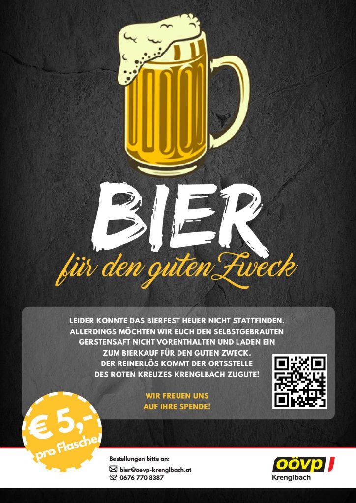 Bier für den guten Zweck