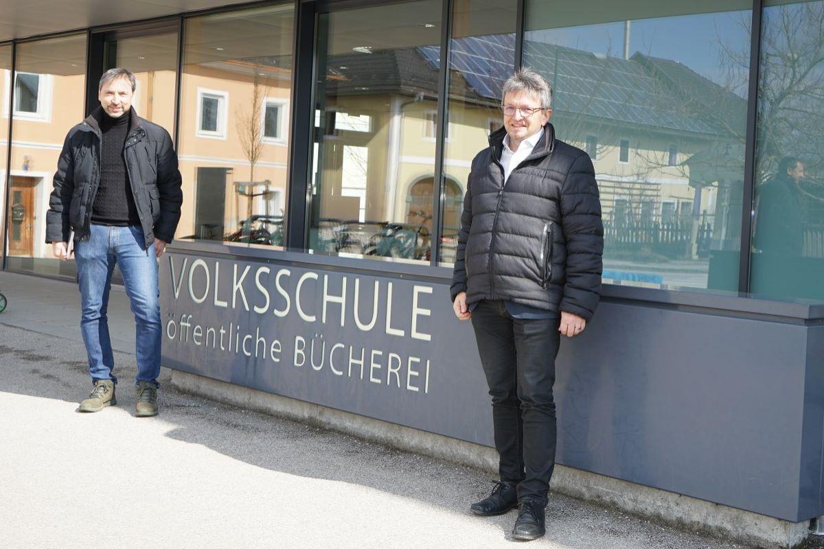 Steinhaus besucht Krenglbach