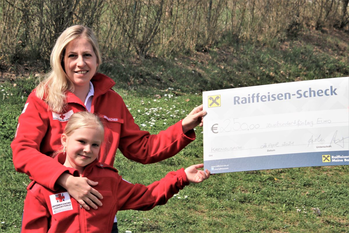 Rotes Kreuz Krenglbach - Ortsstellenleiterin Marlene Neubacher